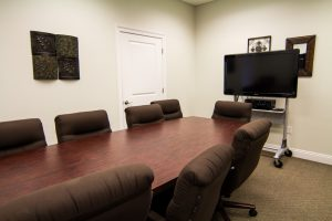 The conference room at the Summerdale Library